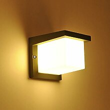 Glighone LED Wandlampe Innen Außen Wandleuchte