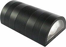 Glighone LED Wandleuchte Wandlampe Aussen Innen