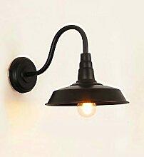 Glighone Retro Vintage Wandlampe Wandleuchte E27