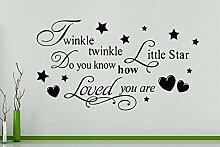 Glitzernde Glitzernde Little Star Do You Know wie