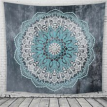 GLITZFAS Multicolored Mandala Tapestry Indian Wall