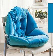 GLITZFAS Stuhlauflage Dicke Sitzauflage