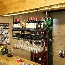 GLJ Doppelter Weinregal-Weinglashalter, der
