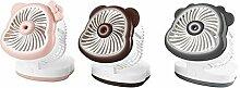 GLJ Mini Fan Ladegerät Spray Wasserkühler