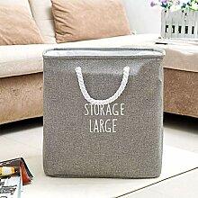 GLJJQMY Moderner Faltbarer Wäschekorb für