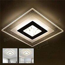 Global 28W Moderne Einfache Quadratische Acryl LED
