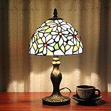 Global-8-Zoll-Tianyuan Chun Floral Tiffany-Lampen warmen Café-Bar Snack-Bar Spezialitäten Nachthandgefertigte Glaslampe