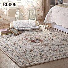 Global-amerikanischen Teppich Wohnzimmer Tisch Matte Rural Pastoral Mittelmeer Nacht Continental Schlafzimmer Teppich