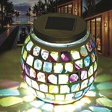 Global Brands Online Edelstahl Solar Power Mosaic