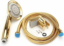 Global Brands Online Gold 3-Funktions-Duschkopf
