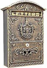 Global- Briefkasten / Briefkasten mit Schloss und