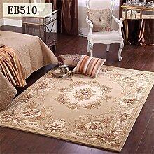 Global-europ?ische Teppich Wohnzimmer Tisch Schlafzimmer Nachttischdecke Mats Handarbeit Verdickung amerikanischen teppiche