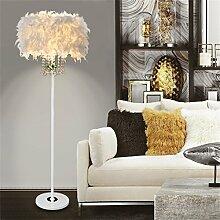 Global- Feder Fußboden Lampe E27 LED