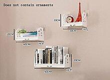 Global- Kreative PVC-Pflanze Stand / schwimmende Rack / Wand Regale / Bücherregal, Schlafzimmer Korridor Wand hängende Kulisse Dekoration Wand Rahmen ( Farbe : #1 )