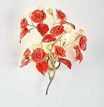 Global-light Keramik Kristall Wand Lampe Moderne