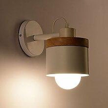 Global-light Moderne Einfache Metall Holz Kunst