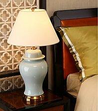 Global- Schlafzimmer Nachttischlampe Keramik