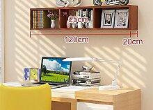 Global- Umfassende Massivholzfaserplatte Wandregal / Bücherregal / Blumenregale / Regal, Wohnzimmer Korridor Schlafzimmer Shop Wandbehang Dekoration ( Farbe : #8 )