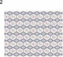 globaldeal Direct Flower Dots Print Rechteck Tischdecke Tisch Cover Banquet Party Home Dekoration–5# 140cm x 180cm, 2#, 100cm x 140cm