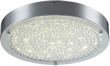 Globo 49212 - LED Kristall-Deckenleuchte MAXIME