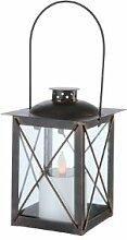 Globo IP44LED-Solar-Laterne, für den Außenbereich, rustikal