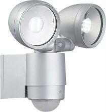 Globo - LED-Außenleuchte mit Sensor 2xLED/3W/230V
