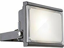 Globo LED Außenwandstrahler RADIATOR III Außenleuchte Aluminium Druckguss Grau | 34231
