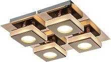 Globo - LED Deckenleuchte 4xLED/5W/230V
