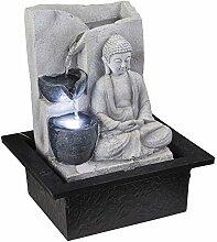 Globo LED Tisch Spring Brunnen Buddha Design