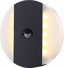 GLOBO Moonlight LED Außen-Lampe Wandleuchte +