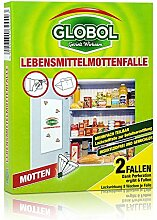 Globol Lebensmittelmottenfalle 2 Fallen - insektizidfrei und geruchlos