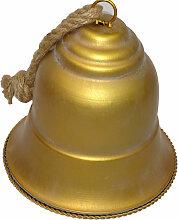 Glocke gold 20 cm
