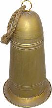 Glocke gold 40 cm