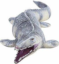 GLOGLOW 45 cm Realistisches Mosasaurus Modell,