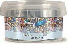 Glorex Décor-Mosaic 300g, Glas, Transparent, 9 x