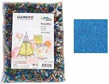 Glorex Rocailles 2,6 mm Beutel 500 g, Glas,