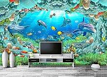 Glorious.Q Fototapete 3D Effekt Seidetuch Wand