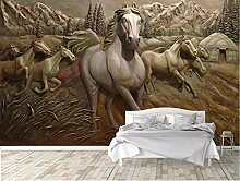 Glorious.Q Fototapete Geprägtes Pferd 3D