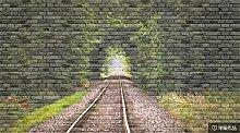 Glorious.Q Fototapete Retro Tunnel