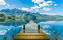 Glorious.Q Fototapete See Reflexion