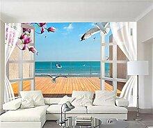 Glorious.Q Fototapete Selbstklebend Balkon Mit