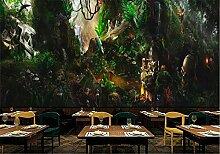 Glorious.Q Fototapete Urwalddinosaurier Dschungel