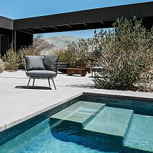 Gloster - Vista Lounge Chair, meteor / granite