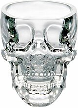 Glow Castle Kreative Totenkopf-Glas Kreative