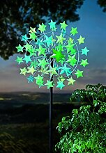 Glowing Stars Metall Wind Spinner