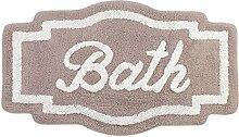 GLShabby Badteppich, Badematte Geformte Design,