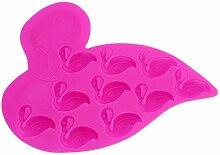 Gluckliy Flamingo Form Silikon Backform Fondant Sugarcraft Kuchen Dekorieren Werkzeuge Küche Zubehör Bakeware Backzubehör