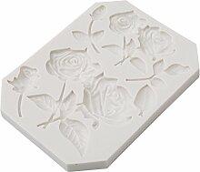 Gluckliy Sugarcraft Blume Silikon Form Fondant Form Kuchen Dekorieren Werkzeuge Schokolade Schimmel