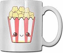 Glückliche Popcorn-Kaffeetasse 11