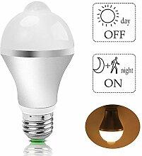 Glühbirne mit Bewegungsmelder - LED Lampen mit